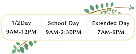 preschool hours of operation daily schedule presbyterian early learning center 628